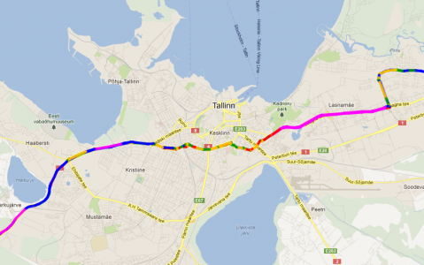 Monitoring of Traffic Behaviour 2012