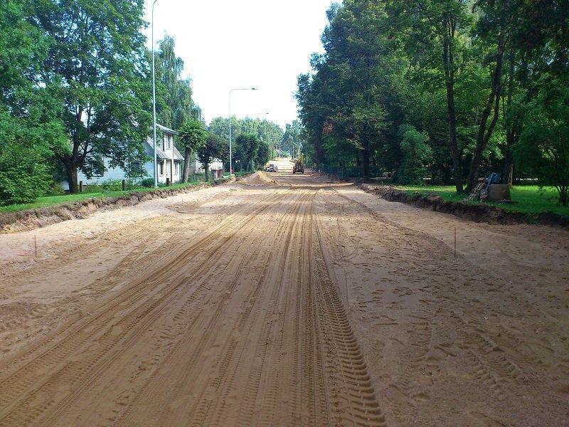 Riigimaantee nr 73 Tõrva – Pikasilla km 0,1 – 1,3 katte taastusremondi omanikujärelevalve