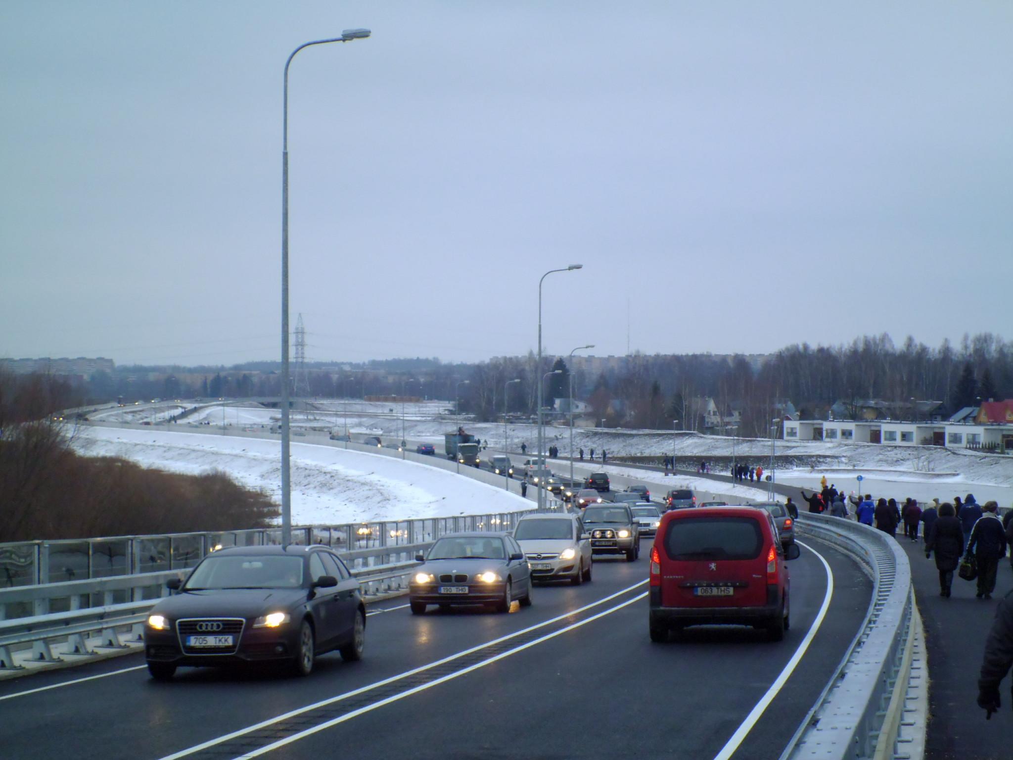 Ihaste silla ja idaringtee teise etapi ehitamine valiti Tartu 2015 aasta teoks