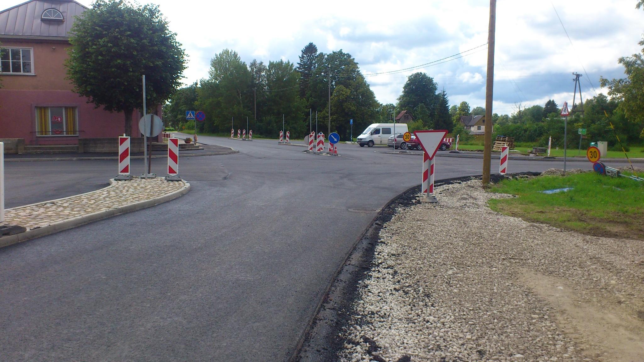 Kõrvalmaanteede nr 16151 ja 16153 ristmiku koos parklaga ümberehituse ja kõrvalmaantee nr 11230 Harju-Risti – Riguldi – Võntküla km 28,87 – 29,46  Nõva külas jalg- ja jalgrattatee ehituse omanikujärelevalve