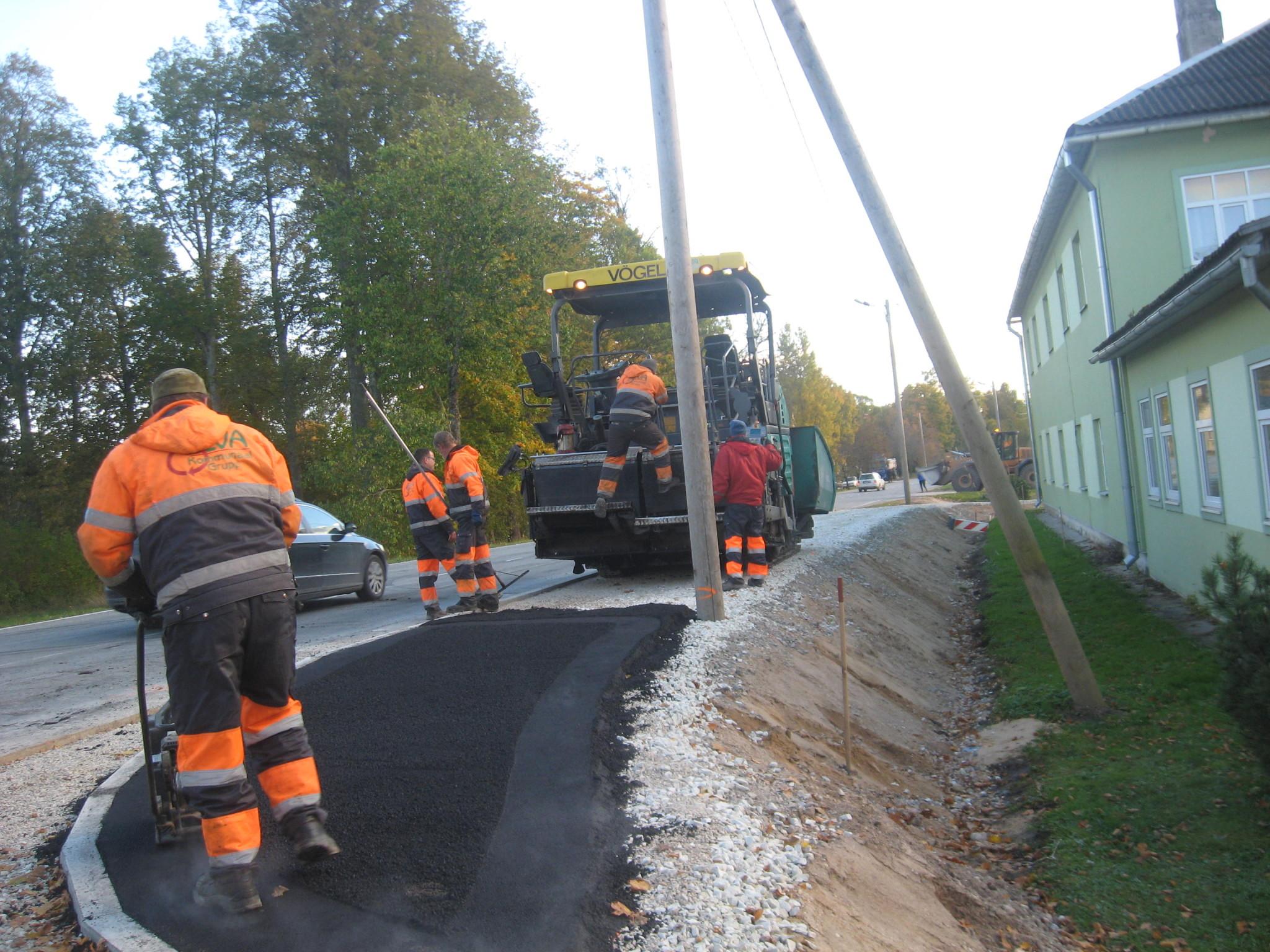 Tartumaa liiklusohtlike kohtade ümberehituse omanikujärelevalve (Rõngu jalgtee)