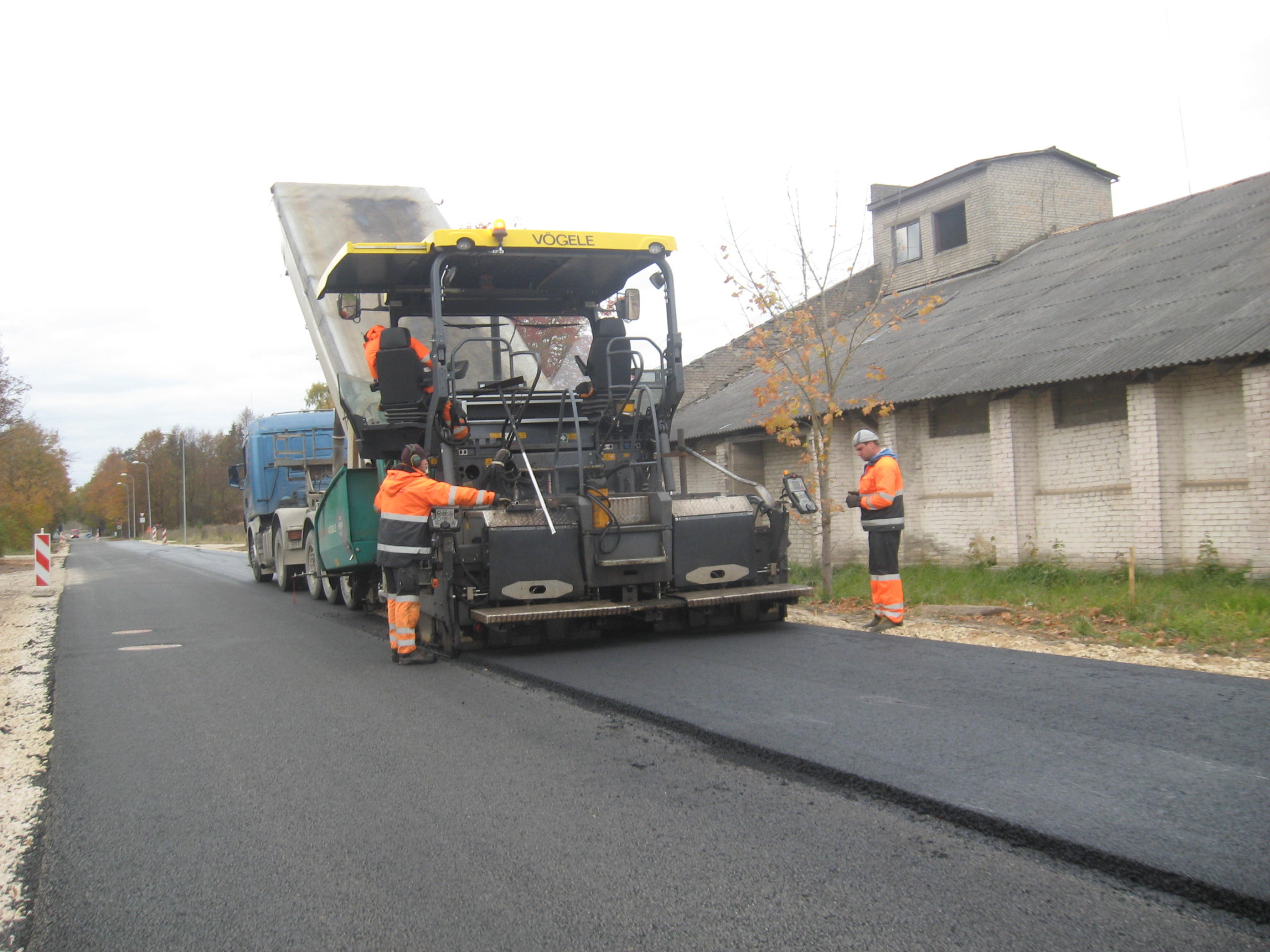 Põlva linnas Jaama 04 tänava sõidutee ümberehitustööde omanikujärelevalve