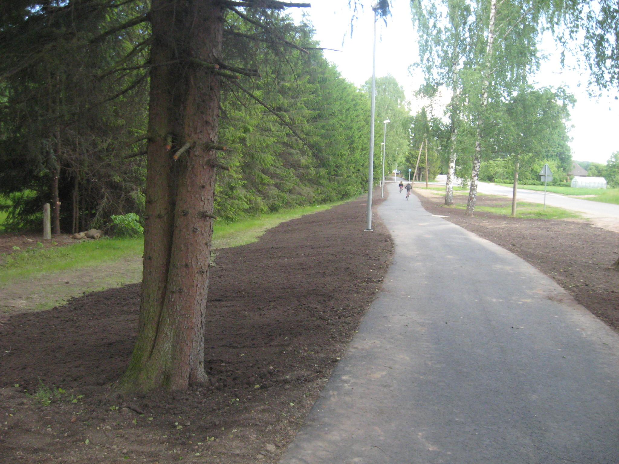 Põlva ristmiku ja tee nr 25212 Meremäe-Petseri km 0,0-0,66 asuva jalgratta- ja jalgtee ehitus koos valgustuse ehitusega omanikujärelevalve