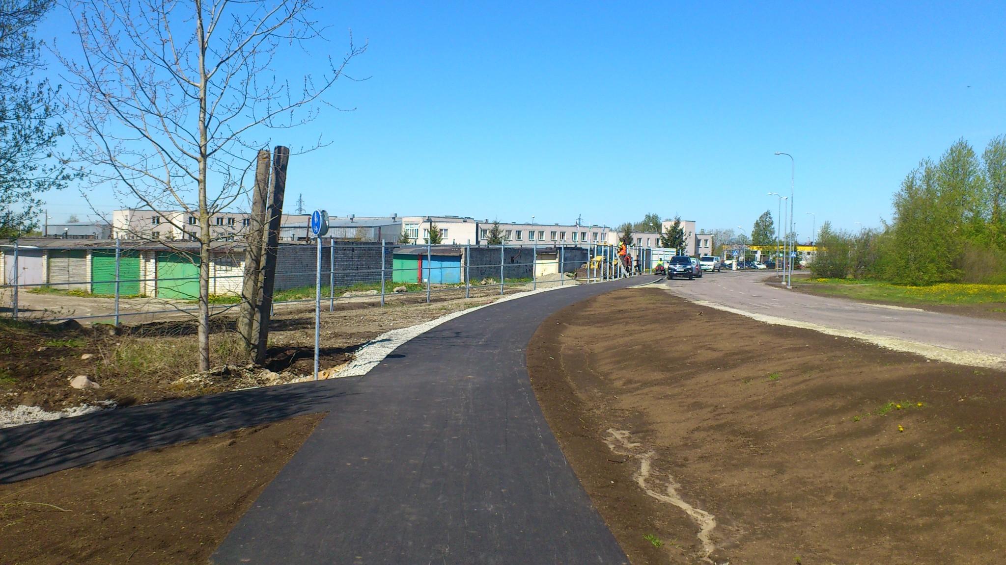 Maardu linnas objektil Orumetsa-Kallasmaa ristmikust kuni Kallasmaa-Keemikute-Ringi ristmikuni omanikujärelevalve