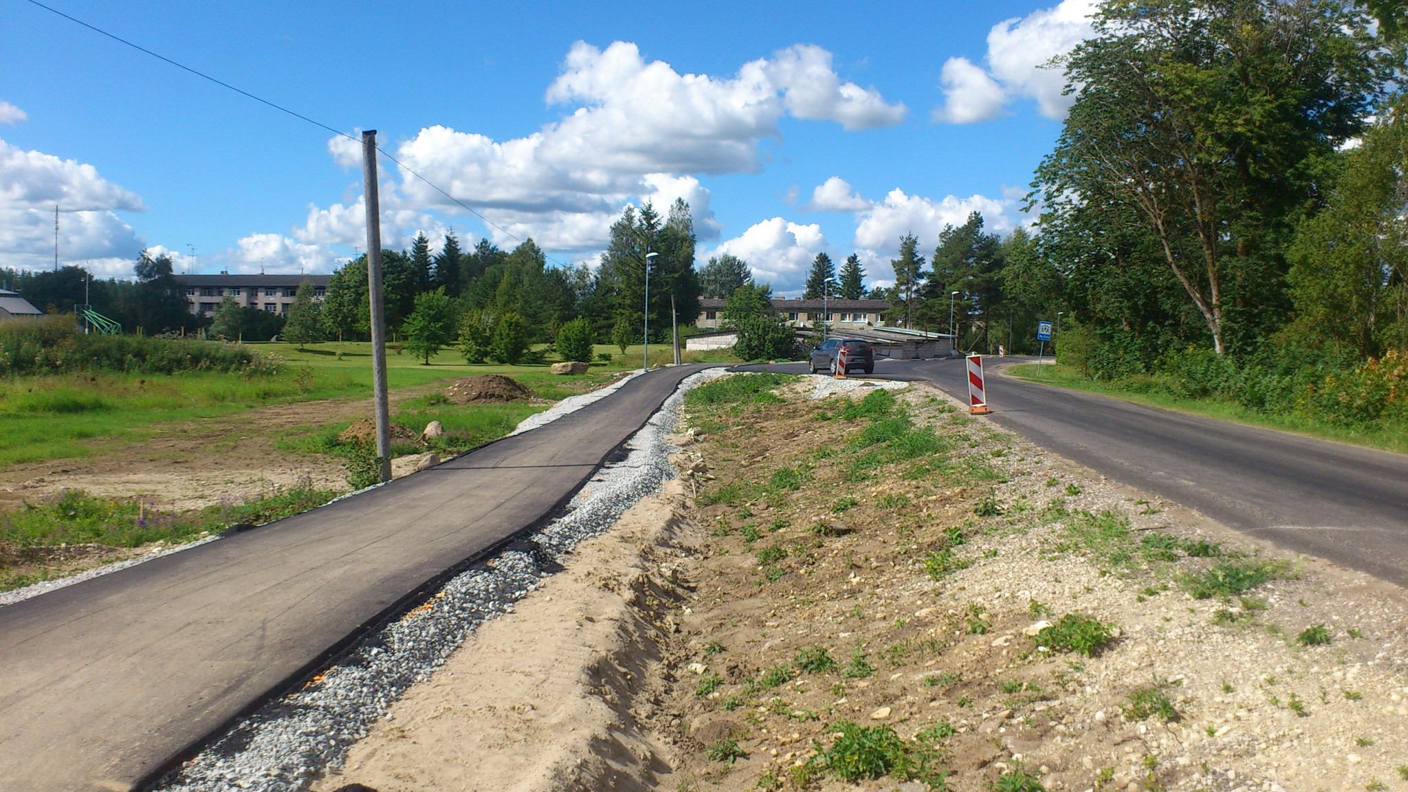 Riigimaantee nr 20148 Koikse – Purku km 2,7-3,8 jalgratta- ja jalgtee ehitamise omanikujärelevalve