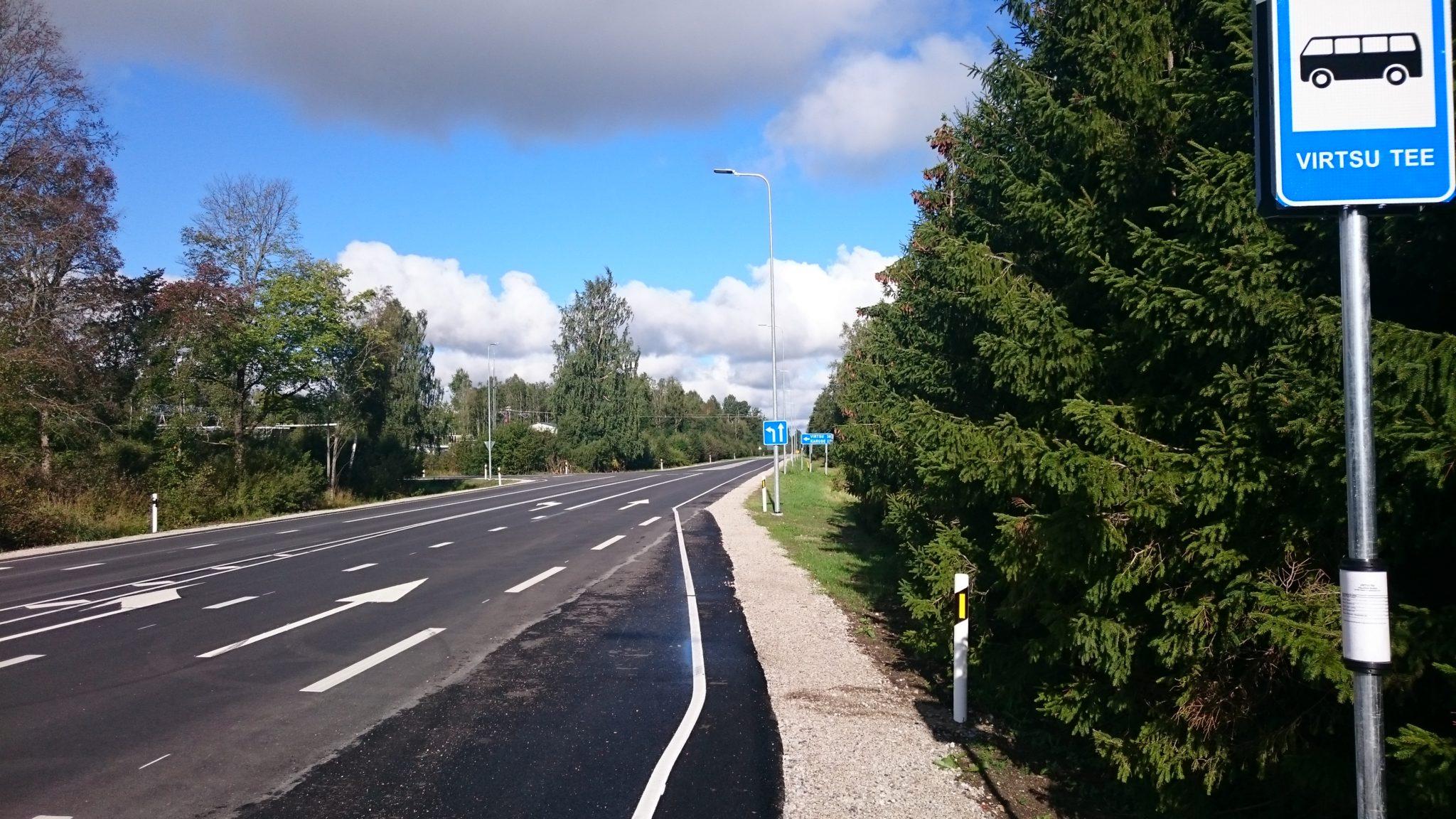 Riigitee nr 60 Pärnu – Lihula km 35,360-35,580 asuva ristmiku ümberehituse ja riigitee nr 60 Pärnu – Lihula km 22,022-22,049 asuva bussipeatuse ehituse omanikujärelvalve