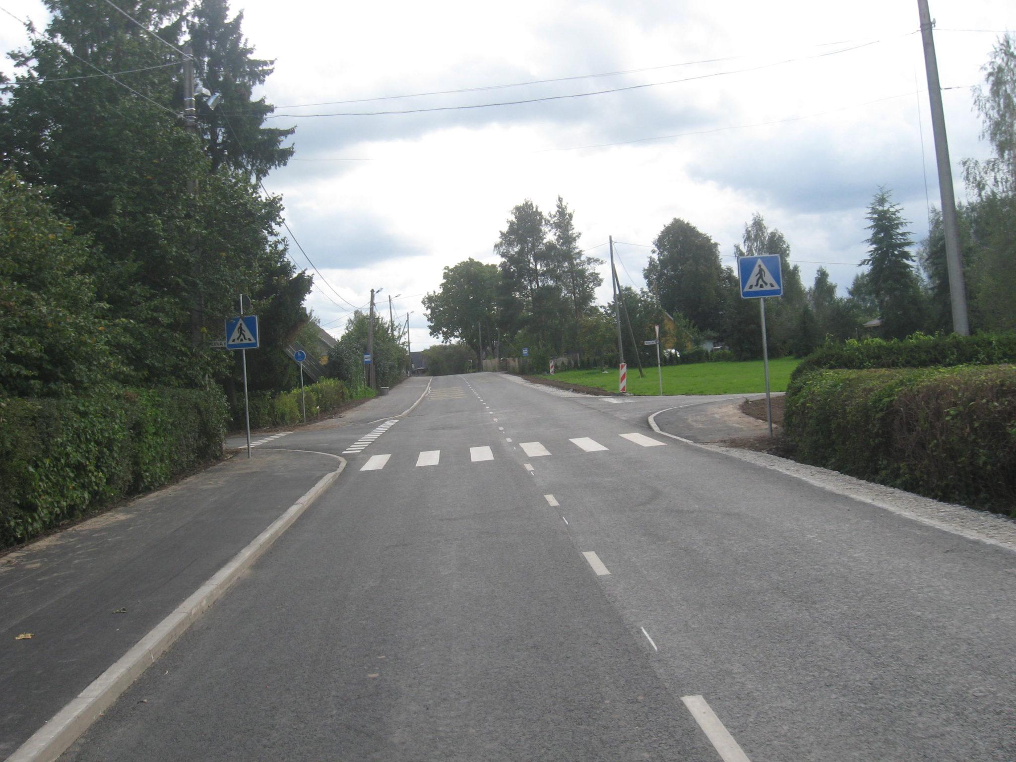 Kõrvalmaantee 22155 Nõo-Tamsa km 1,0-1,7 Nõo alevikus asuva lõigu rekonstrueerimise omanikujärelevalve